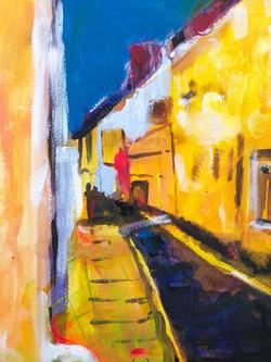 Yellow streetSOLD