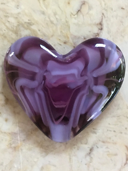 Purple and Lavender Heart