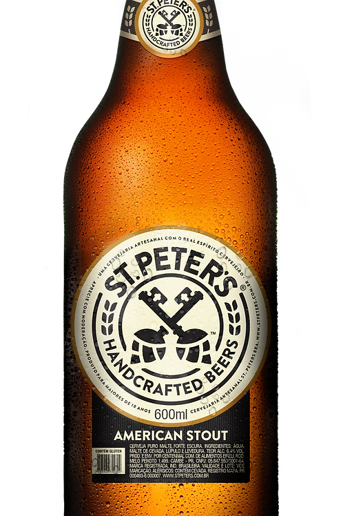 Cerveja St. Peters American Stout 600ml