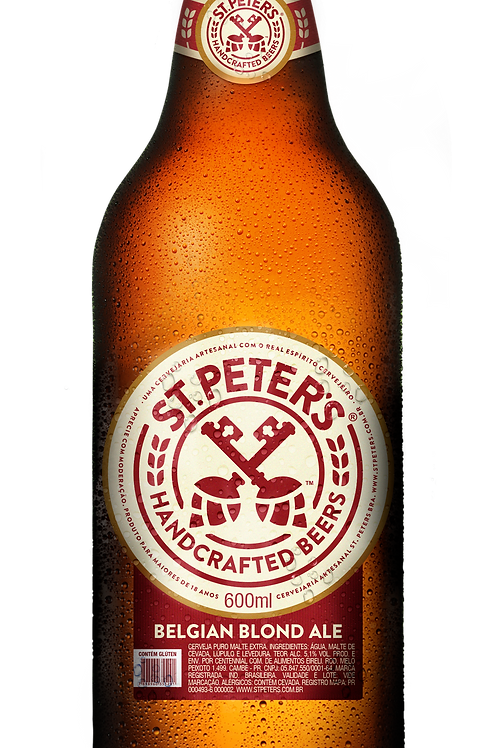 Cerveja St. Peters Belgian Blond 600ml