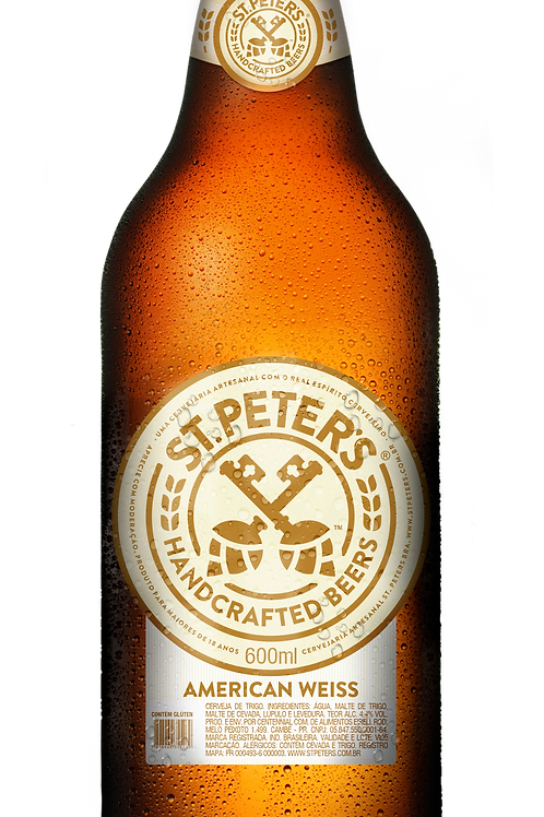 Cerveja St. Peters American Weiss 600ml