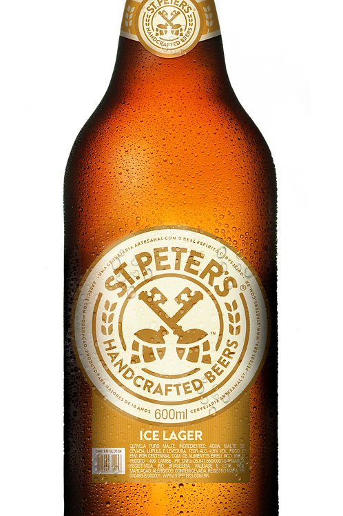 Cerveja St. Peters Ice Lager 600ml