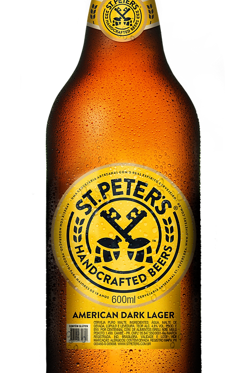 Cerveja St. Peters American Dark Lager 600ml