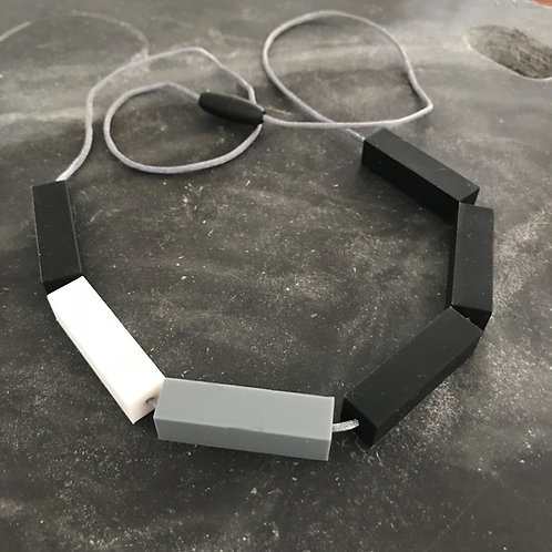 Rod silicone necklace