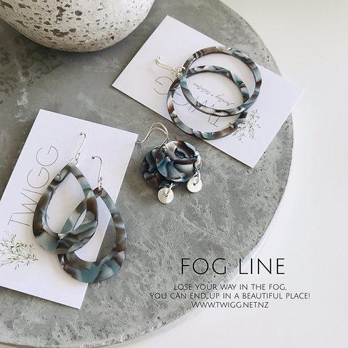 FOG acrylic Earrings