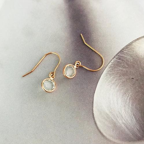 Swarovski Crystal dew drop earrings
