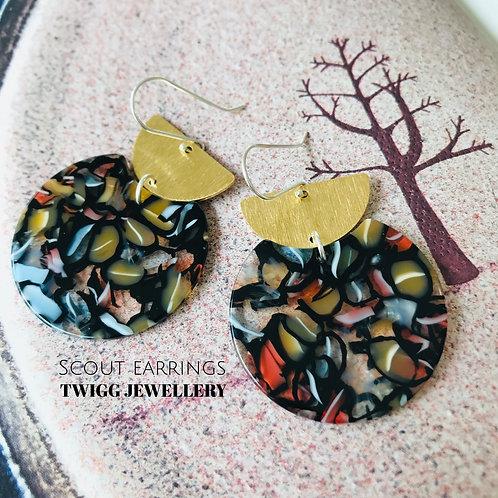 Scout melo earrings