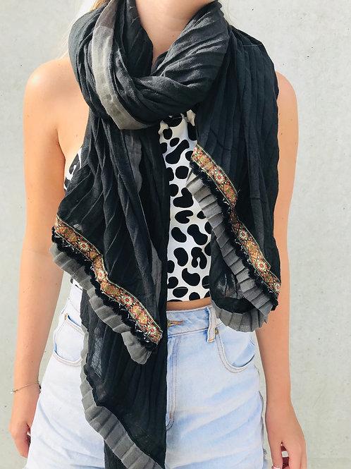 Ebony scarf
