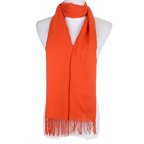 Oh brighten up - orange scarf