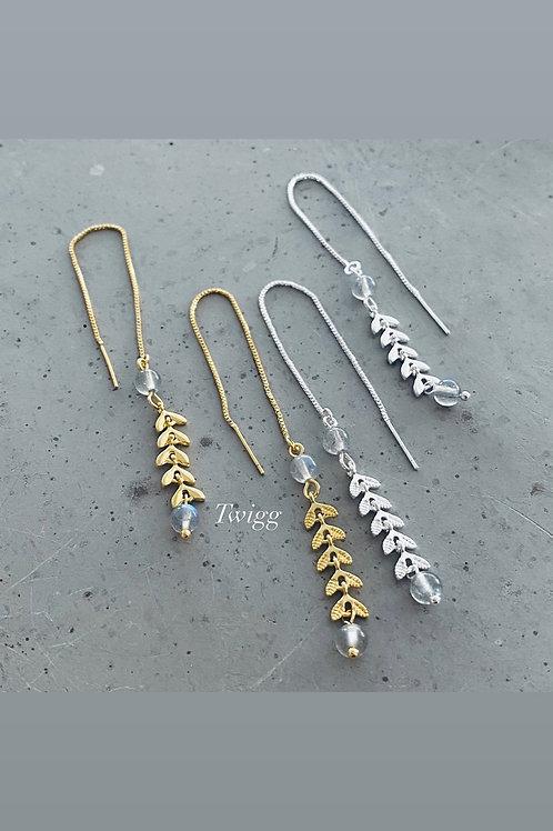 Levente thread earrings