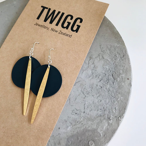 PALET rod drop earrings