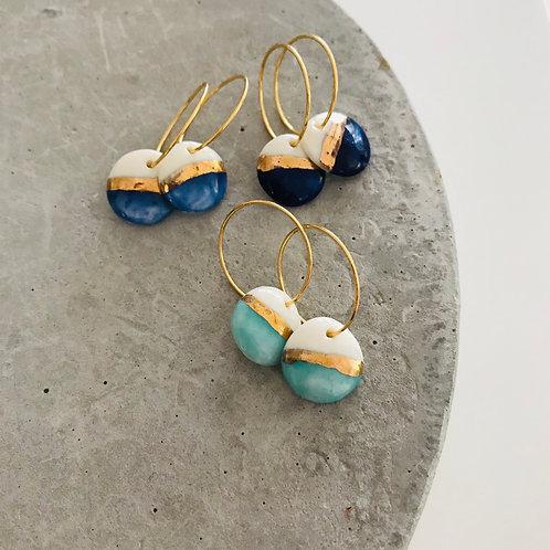 Coastal Porcelain Earrings