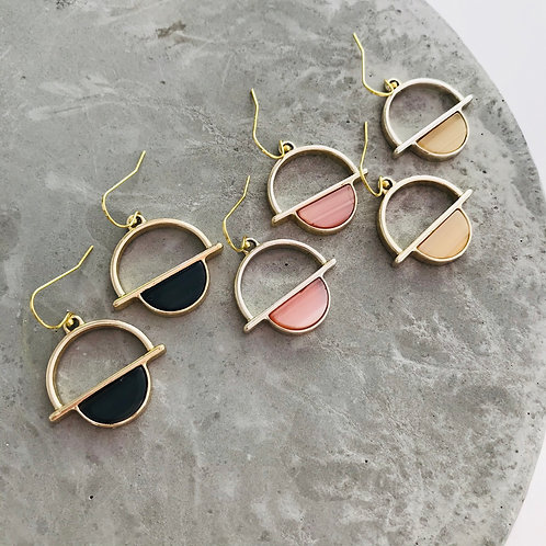 HELLE orbit earrings
