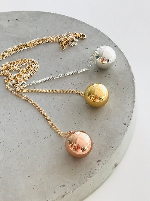 Harmony ball necklace