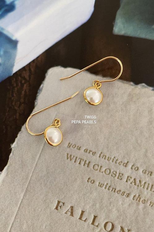 Peppa pearl earrings