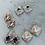 Thumbnail: Leon CRYSTAL Earrings
