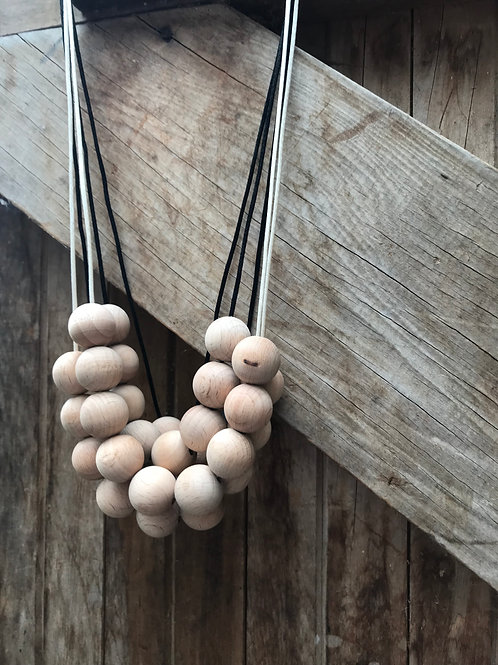 Its only Natural - beech wood Necklace