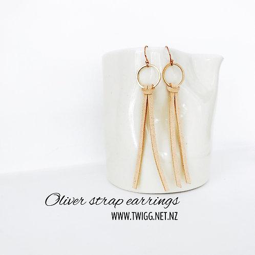 Oliver Strap Earrings