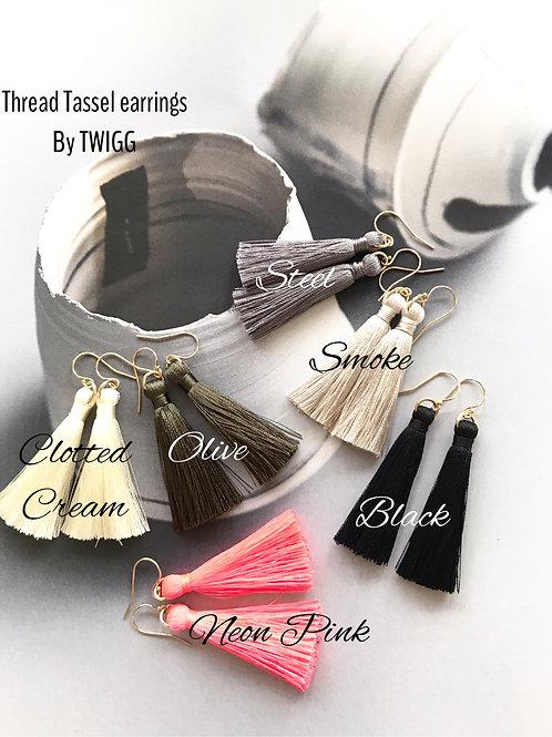 Thread Tassel - back in stock