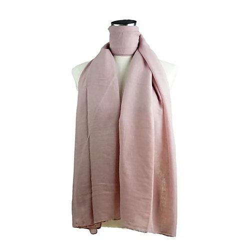 Just blush scarf