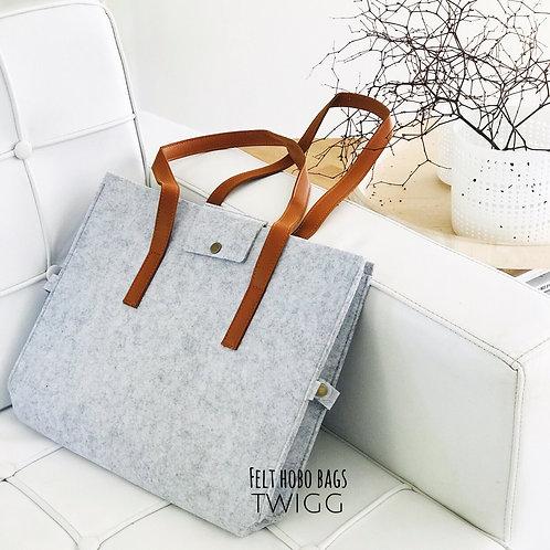 FELT HOBO BAG