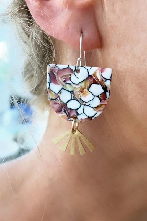 Pollock Earrings
