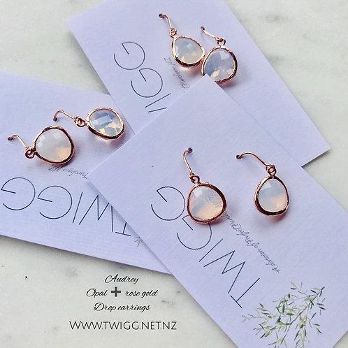 Opal Audrey Drop Earrings