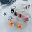 Thumbnail: LUCAS porcelain flower earrings x6