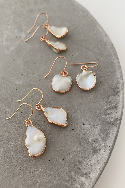 Rimmer pearl earrings