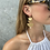 Thumbnail: Tiered Crescent Earrings