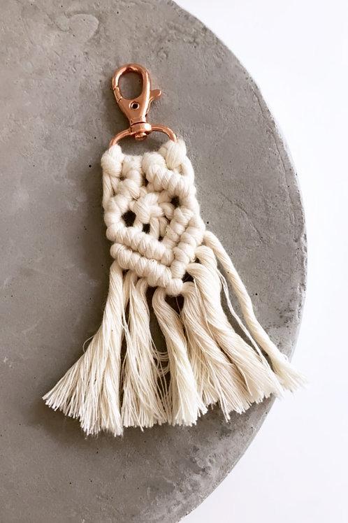 BOHO Macrame cotton tassel