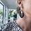 Thumbnail: Ruben painted tear drop earrings