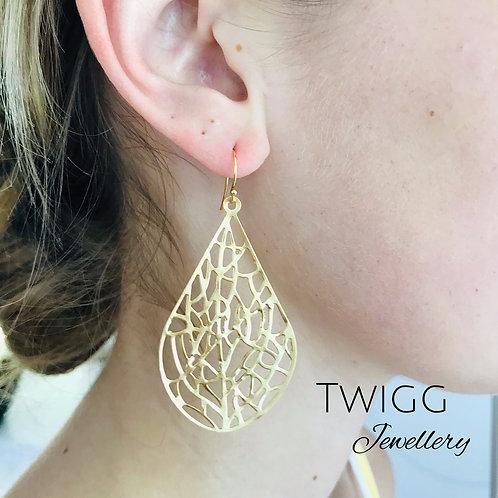 Filigree lulu earrings - Silver