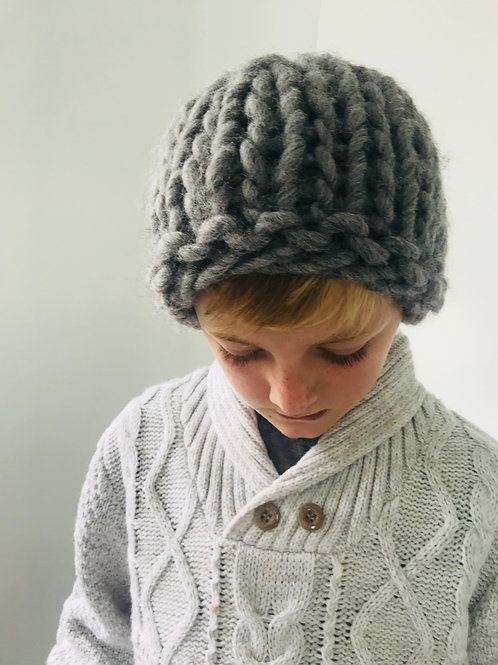 . Corriedale Wool Hat - Adult or child