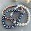 Thumbnail: Pearl bracelet -  dark