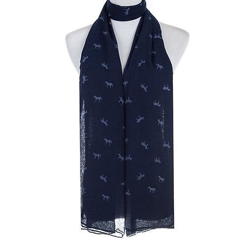 Wild horse scarf
