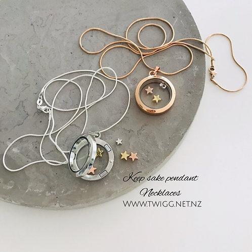 Keepsake Pendant necklace
