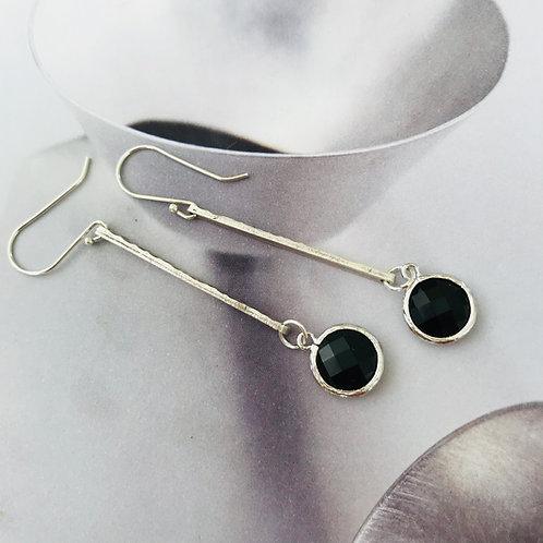 indy rod drop earrings
