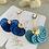 Thumbnail: Perforated fan earrings