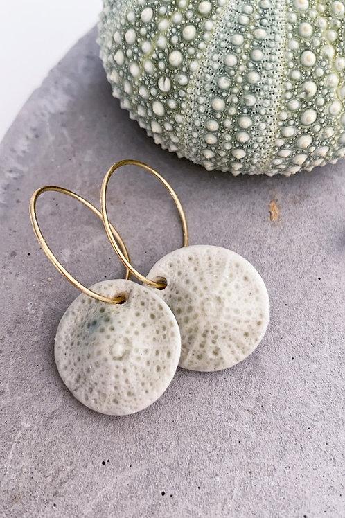 Porcelain Kina earrings