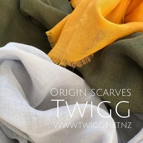 Origin natural scarf