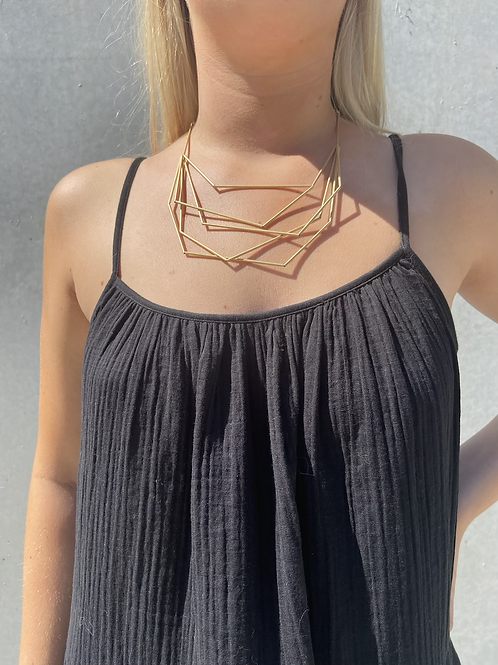MATTE nested necklace