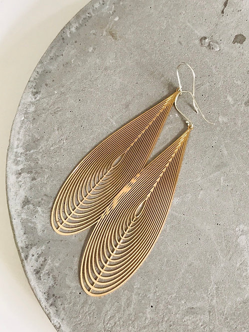 Chime drop earrings