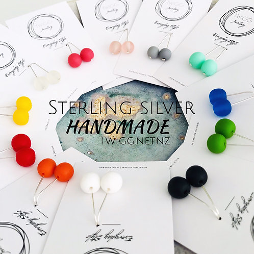 Everyday Earrings - Sterling Silver  -