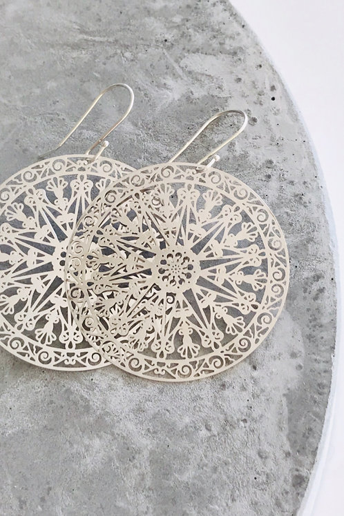 Zuri Wheel Earrings
