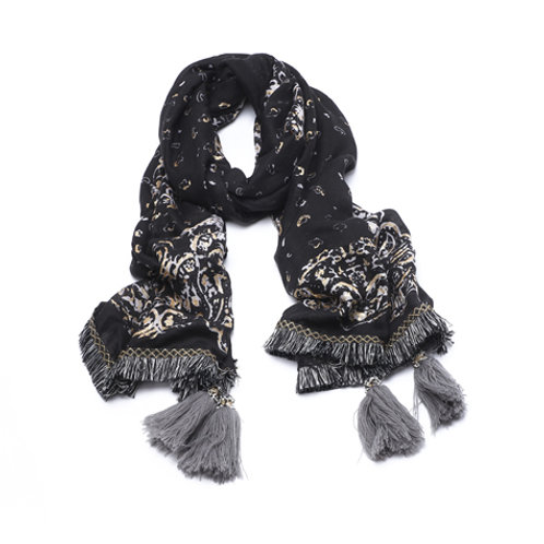 Arabia black scarf