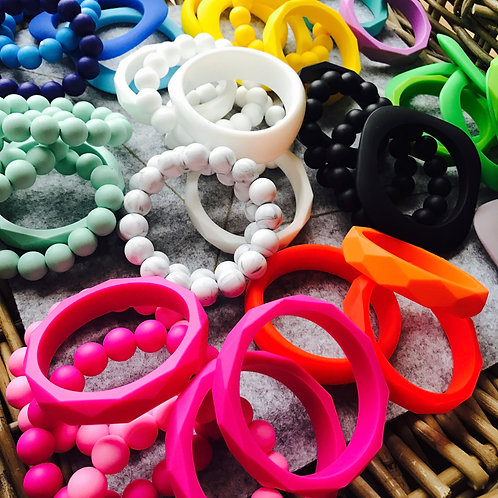 Mix of our best sellers - Silicone Bracelets