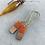 Thumbnail: Resin + wood earrings