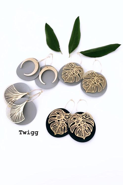 copy of Pallet earrings
