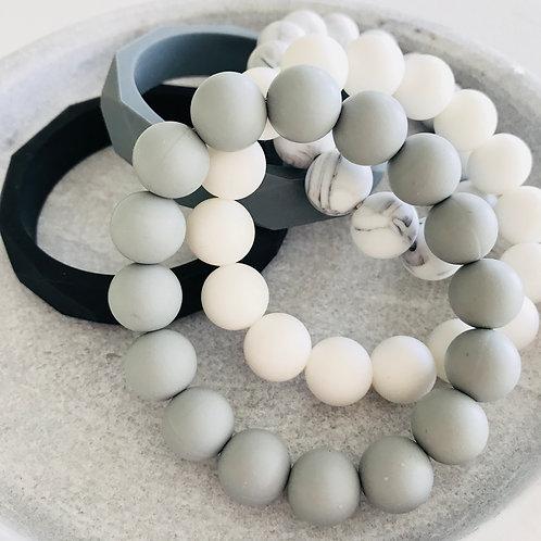Silicone bracelet mix